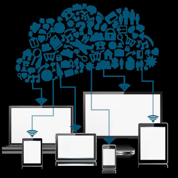 school web filter BYOD network diagram